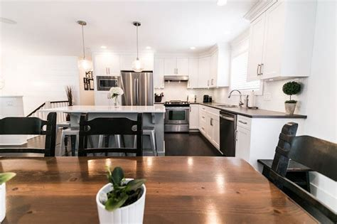 Split Level Kitchen Living Room Remodel by Bc Box Renovation Split Level Remodel Open Concept
