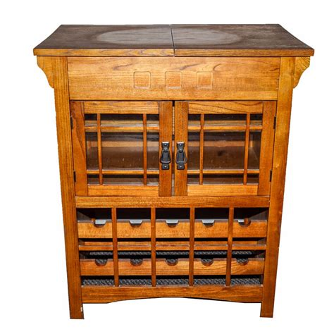 mission style liquor cabinet contemporary mission style bar cabinet ebth