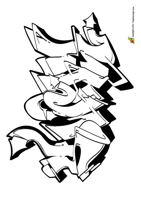 jeux de cuisine gratuit en francais dessin à colorier d un graffiti représentant le mot swag