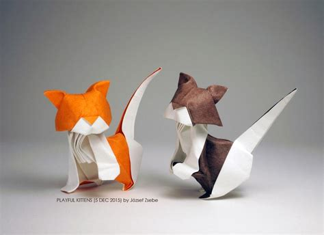 amazing origami cats  scratch  kitty crafting itch