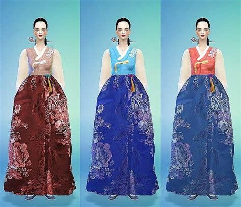 Korean Traditional Costumeshan Bok Set At Marigold Sims