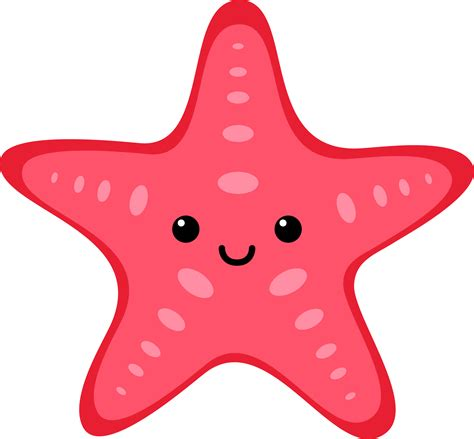 sea creatures clipart starfish clipart sea pencil and in color starfish