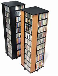 dvd storage racks 1040 CD 476 DVD Storage Rack Spinning Tower Rack - NEW | eBay
