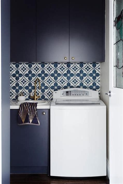 blue laundry room tiles blue laundry rooms laundry room