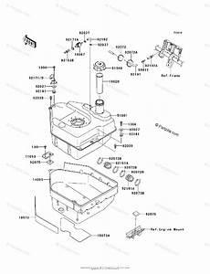 Kawasaki Atv 2008 Oem Parts Diagram For Fuel Tank