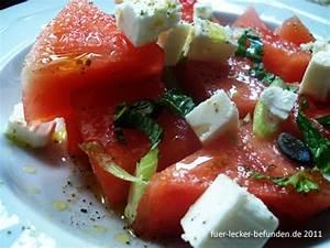 Melone Mit Schafskäse : f r lecker befunden watermelon salad ~ Watch28wear.com Haus und Dekorationen