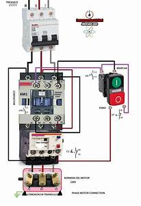 Contactor Wiring Diagram With Schematic And Diagrams