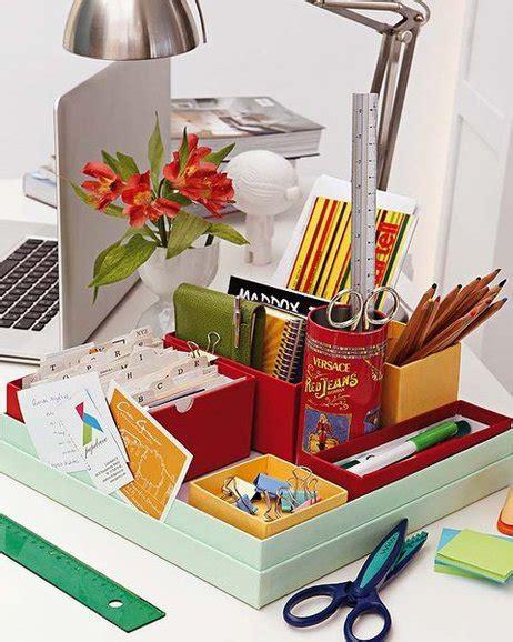 desk organization ideas 13 diy home office organization ideas how to declutter