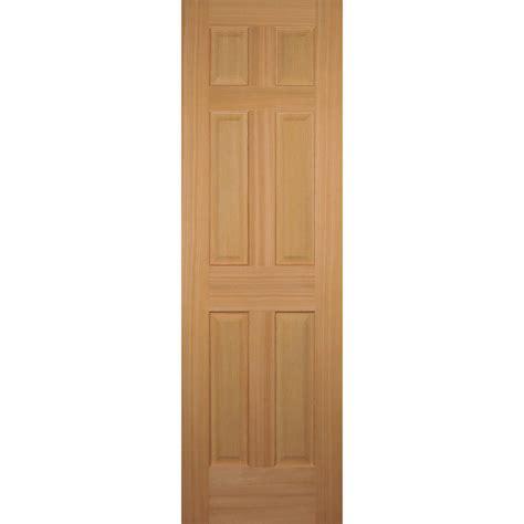 doors home depot interior builder 39 s choice 24 in x 80 in hemlock 6 panel interior