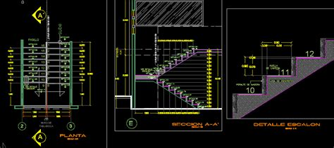 house plans with swimming pools stair details dwg section for autocad designs cad