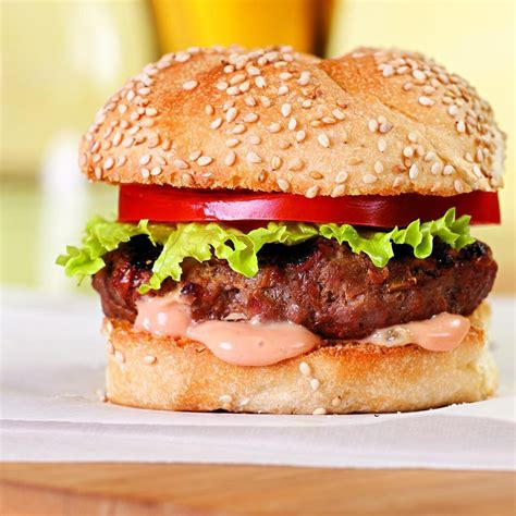 hambuger recipes classic hamburger for two recipe eatingwell