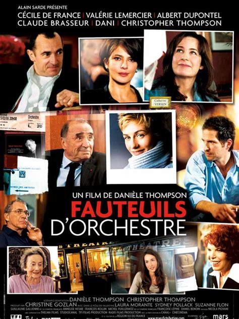 Fauteuil D Orchestre Le fauteuils d orchestre film 2005 allocin 233