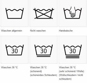 Weichspüler Symbol Waschmaschine : was bedeuten die einzelnen waschzeichen waschtraum pflegetipps f r w sche ~ Markanthonyermac.com Haus und Dekorationen