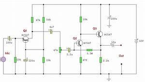 Audio Amplifier Circuit Diagrams
