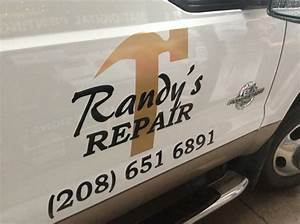 randy39s repair vinyl install innovative signs of tucson With vinyl lettering tucson