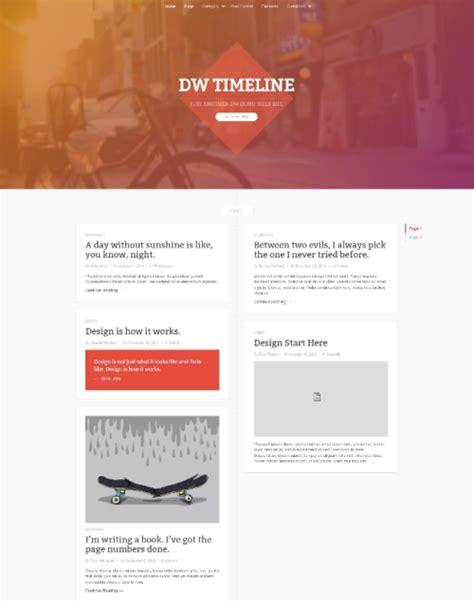 timeline wordpress themes plugins ginva