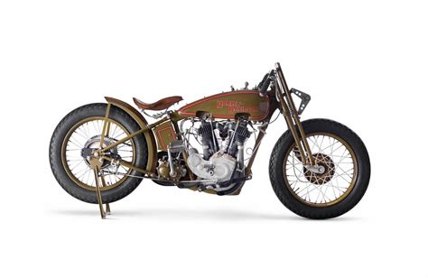 Harley-davidson Model Jdh 'two Cam' Racer
