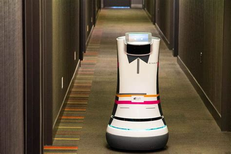 Robot Butlers Roll Into Action At Starwood Hotels