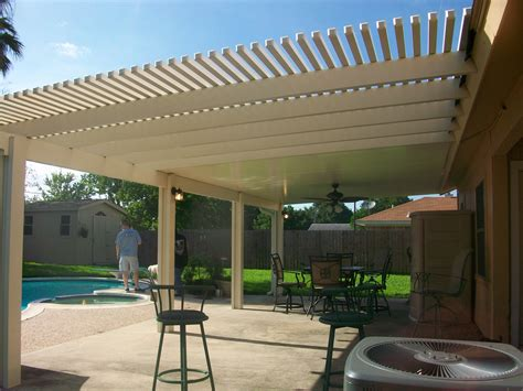 unique alumawood pergola covered patio lonestar patio
