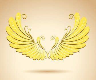 burung template sayap ikon mengkilap siluet desain logo