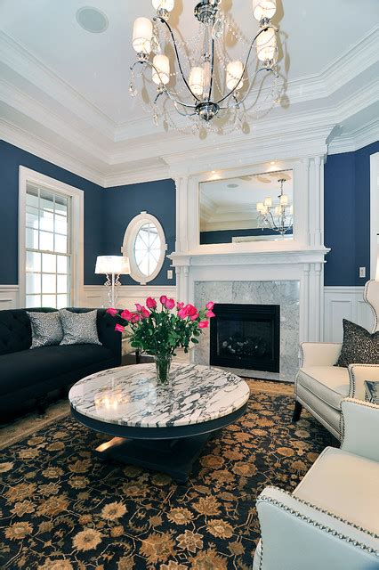 Bring some rich velvets into your own space to. Modern Victorian - Traditional - Living Room - other metro ...