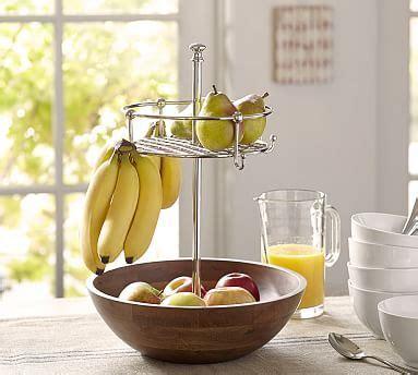windsor fruit bowl  banana hooks potterybarn home