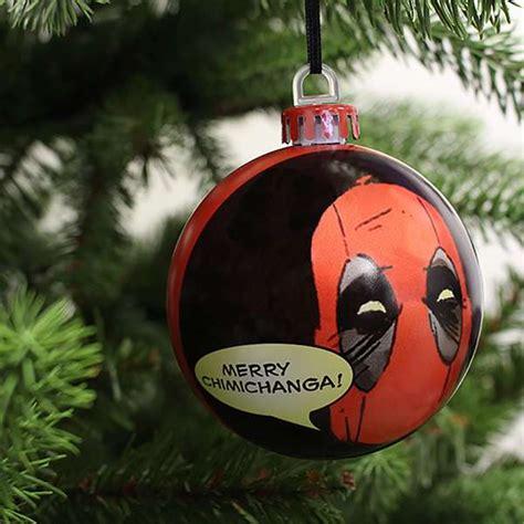 deadpool christmas decorations ornaments numskull