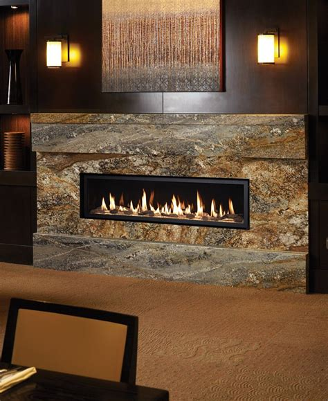 gas fireplace unit 6015 linear gas fireplace the big to the 4415