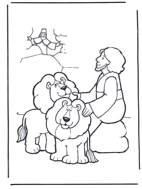 daniels   lions den   testament