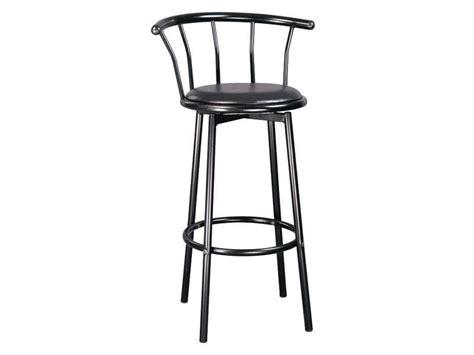 chaise de bar conforama tabouret de bar pivotant brice coloris noir vente de