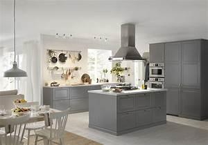 Deco Cuisine Ikea : cuisine grise ikea ~ Teatrodelosmanantiales.com Idées de Décoration
