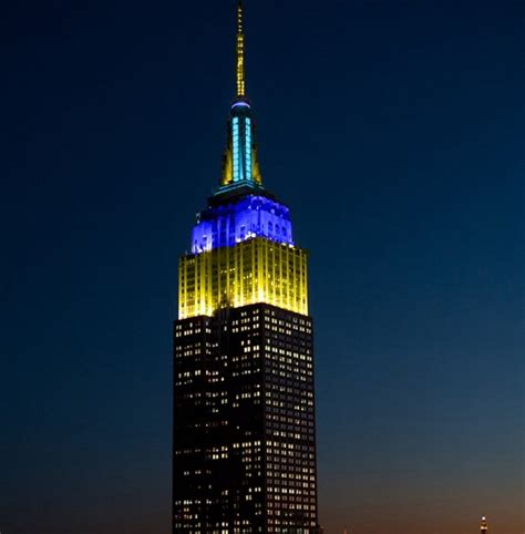 empire state building lights up for in our schools