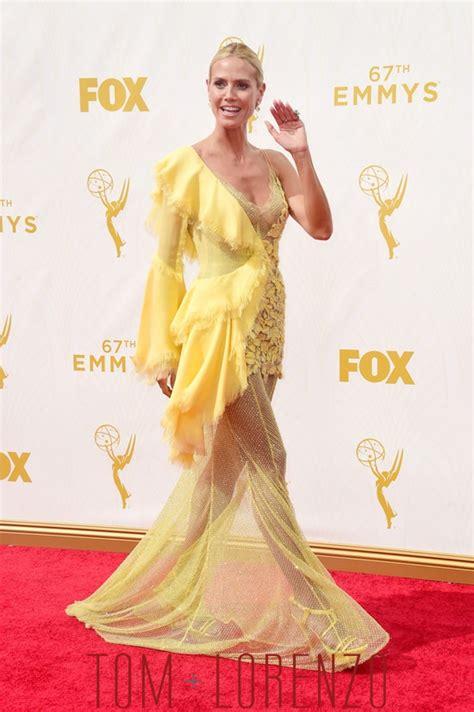 Emmys Girl Whut Heidi Klum Atelier Versace Tom