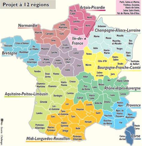 Nouvelle Carte De Region Et Departement by Tigu Tegemised Suurimaks Sidemeks Looduse Ja Kultuuri