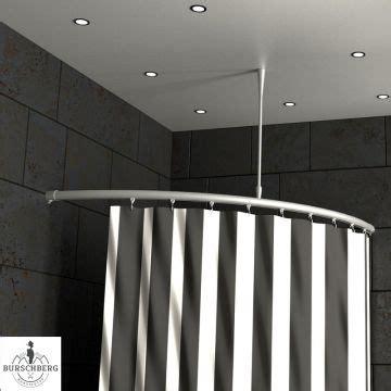 Duschvorhang Für Eckdusche by Duschvorhangstange Rund Innenlaufrohr