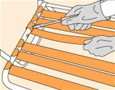 how to repair chair straps and webbing ehow