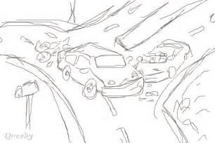 How to Draw Car Crash