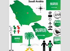 Free Vector Saudi Arabia Information Graphic Elements