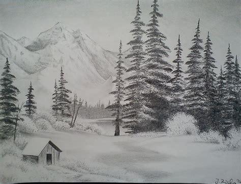 Snow Landscape By Bellchen87 On Deviantart