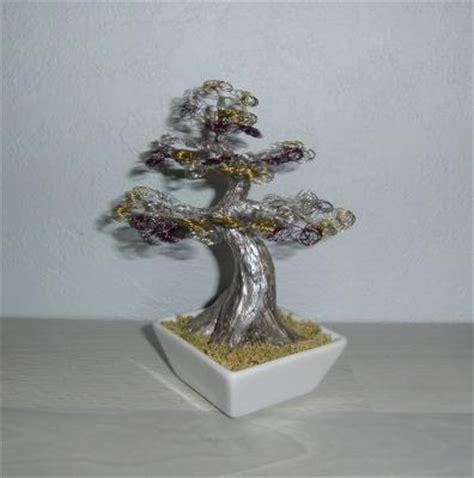 bonsai formen mit draht deko bild kreativwerkstatt db produkte deko bonsai draht baum skulptur