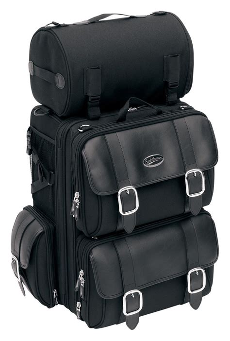 Saddlemen S3200DE Deluxe Expandable Sissy Bar Bag - RevZilla