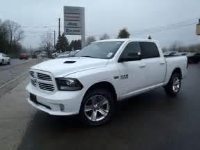 Dodge Ram 1500 White Sport 2014