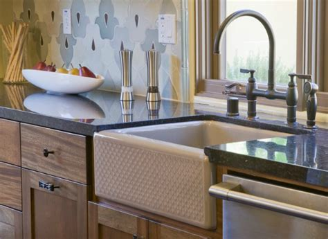 best material for farmhouse sink kitchen sink types sink material reviews consumer
