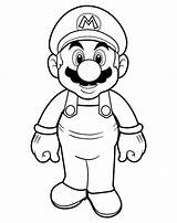 Mario Coloring Pages Cartoon Super Printable Brothers Getcolorings Mar sketch template