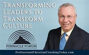 Transforming Leaders to Transform Culture - Professional ...