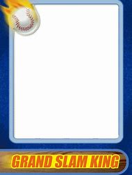 Baseball Card Template | Best Baseball Trading Cards Ideas And Images On Bing Find What