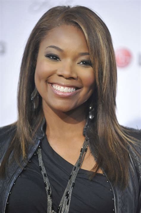 gabrielle union hairstyles   faces stylebistro