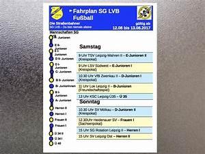 Lvb Leipzig Fahrplan : vorschau aufs 2 august wochenende 2017 sg lvb e v abteilung fu ball ~ Eleganceandgraceweddings.com Haus und Dekorationen