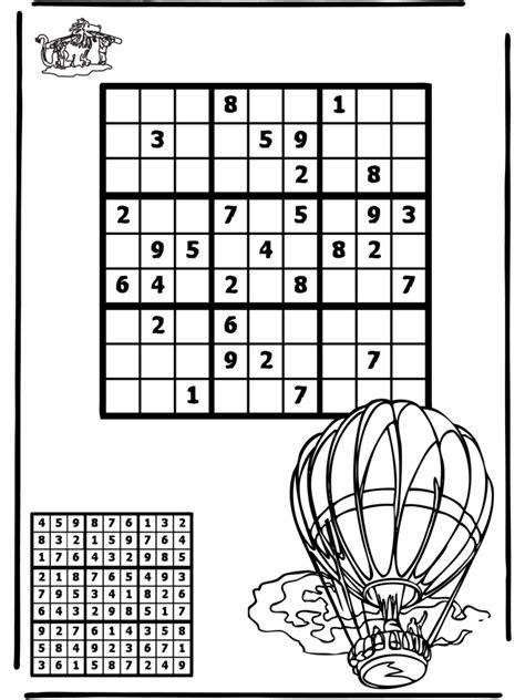 sudoku mongolfiera puzzle