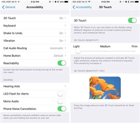 how to use iphone 6 how to use 3d touch on iphone 6s and 6s plus mac rumors